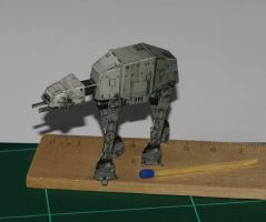 AT-AT - Star Wars miniature by SarienSpiderDroid