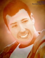 ADAM SANDLER by dancarrtoonist