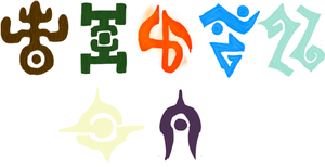 :CO: Magical Starsign Symbols by Thaxen