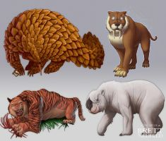 Various Beasts by Brett-Neufeld