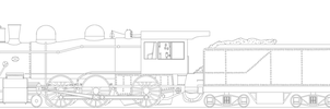 Vauclain 4-6-0 Template by PanzerschreckLeopard