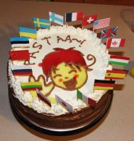 hetalia birthday cake by uhmu