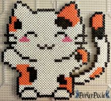 Kawaii Calico by PerlerPixie
