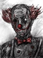 Demonic Clown by Eemeling