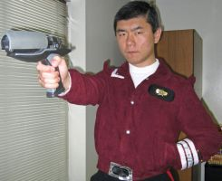 Captain's Phaser Mk.2A: Costume Test (March 2014) by galaxy1701d
