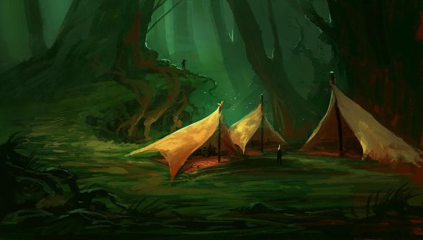 Camp by parkurtommo