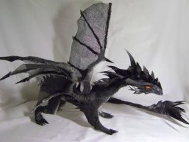 Dragon of Darkness by Mazeyelle