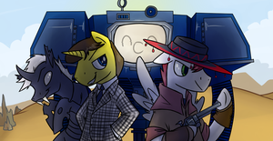 Fallout Gang Commission by professor-ponyarity