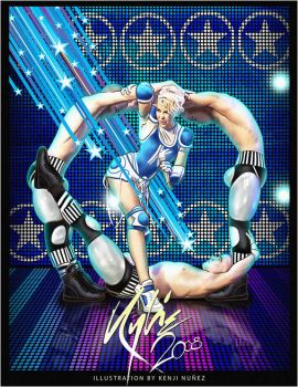 Kylie X tour 2008 :CheerSquad by KenjiArts