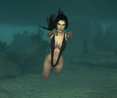 Diving by tombraider4ever