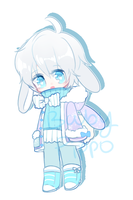 Yukino the Winter rabbit DTA closed by BabyPippo