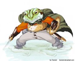 Frog by Tionniel