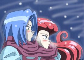 Winter-Team Rocket by Chamel413