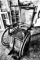 Antique Wheelchair II by basseca