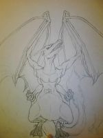 Charizard WIP by MaleficentDraco
