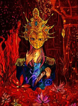 The Rakshasa Queen by Elisabethianna