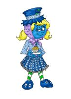 Smurfberry Muffin COLOR by originalceenote