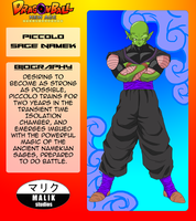 Piccolo Bio Card by MalikStudios