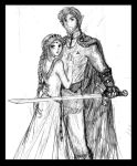 Old pic - Olaran and Ariala by Lizeth
