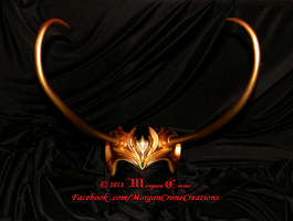 Multi-Tone Lady Loki Horned Diadem View #11 by MorganCrone