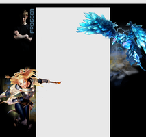 Twitch.tv Background - Froggen [Anivia + Lux] by angelarcanine