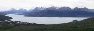 Panorama: Skilak Lake by TheDemolitionist
