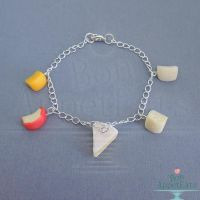 Cheese Charm Bracelet by Bon-AppetEats