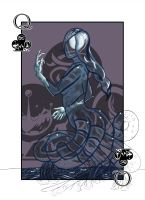 Queen of Clubs by Kaiazes