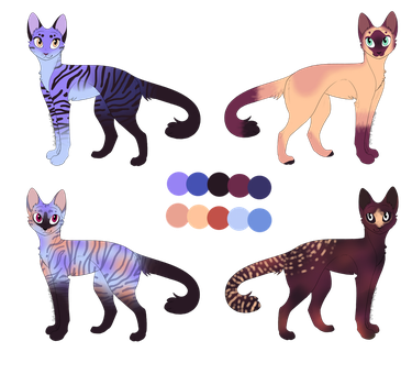 OPEN Mega Palette Cat Adopts by StarphishyAdopts
