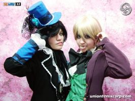 Ciel And Alois by cerezosdecamus