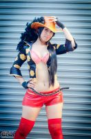 Nico Robin Film Z Cosplay 4 by As-Naye