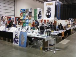 Me, Jon and Jay's table set up by hclix