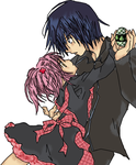 Amu and ikuto by heart-of-a-demon