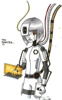 Human GLaDOS by Tygirl181