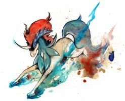 Keldeo Pokemon O Ka Fee by RubisFirenos