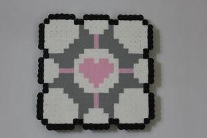 Companion cube by CoolNerdGirl1