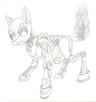 Robo pony by The-Laughing-Horror