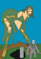 Giantess of Babil? by Final7Darkness