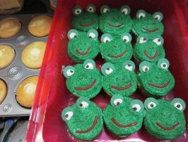 Froggy Cakes by Angel-Of-Tricks