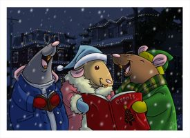 Merry Christmas Card 2 by ketari