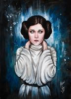 Princess Leia by BlackFurya