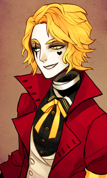 The Ringmaster in Red by SavvySleeves