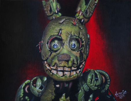 Springtrap Five Nights at freddy's 3 by MiltonCesar
