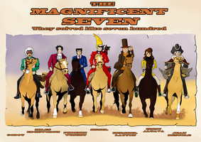 The Magnificent Seven by Dragonite96