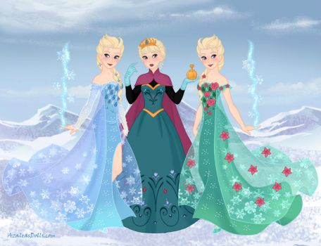 All kinds of Elsa by Arts-Of-Mary-Sanders