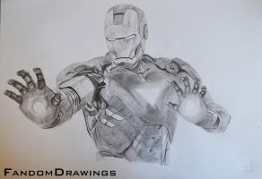Iron Man by FDrawings