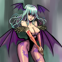 Morrigan by Unknowncake