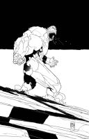 Speed Inking 2016-02-25... by PatBoutin