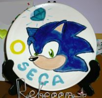 Sonic on a Plate by DreamBex