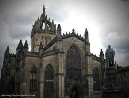 Gothic Style Church by LittleBoFreak